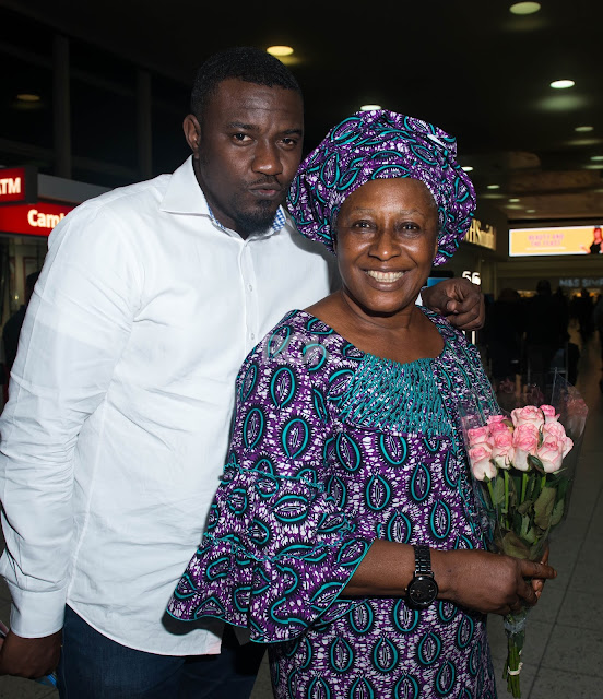 John Dumelo and Patience Ozokwor lands in London for ROK SKY LAUNCH