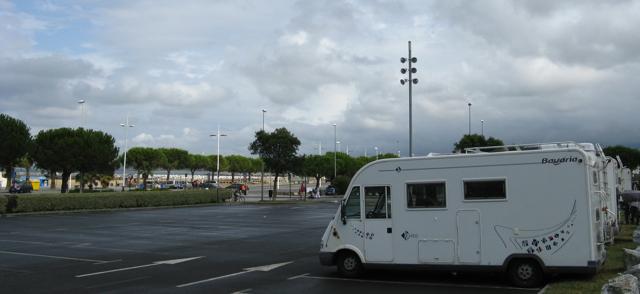 Estacionament en Hondarribia