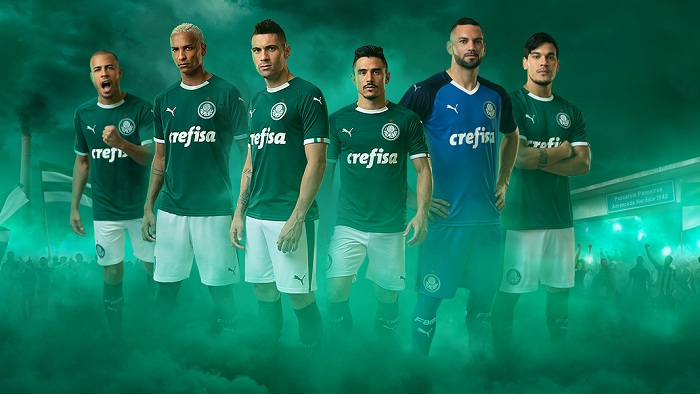 Goodbye Adidas - Puma Palmeiras 2019 Home   Away Kits Released - Footy  Headlines acf2801a4
