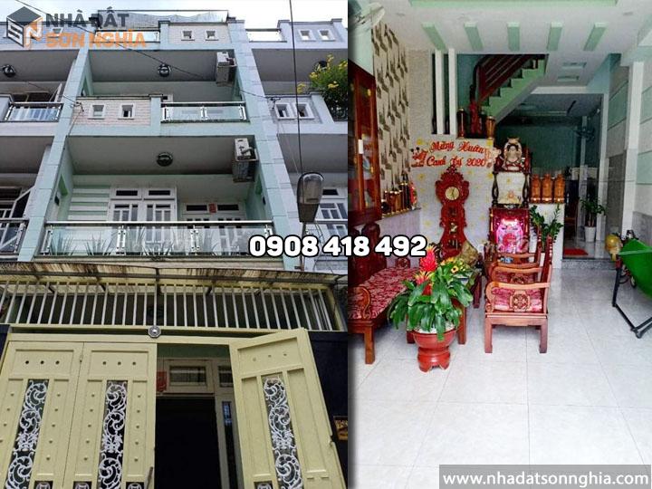 Bán nhà quận Gò Vấp hẻm 265 Phan Huy Ích, p12 - 4x15m giá 5 tỷ