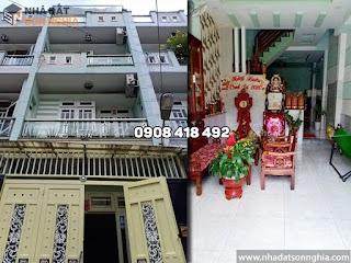 Bán nhà quận Gò Vấp hẻm 265 Phan Huy Ích, p12 - 4x15m giá 5 tỷ (MS068)