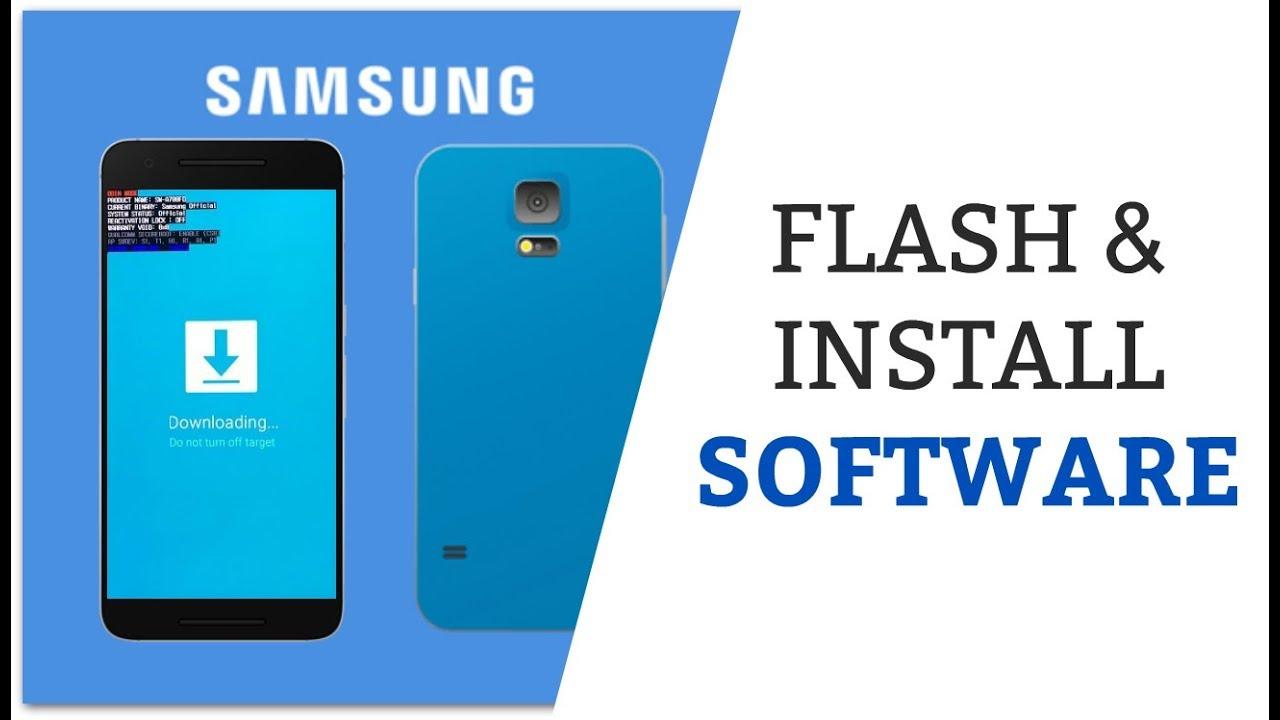 Samsung Mobile USB Flashing updatedSoftware Download Free