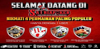 SatriaPoker.com Agen Poker Online Terpercaya