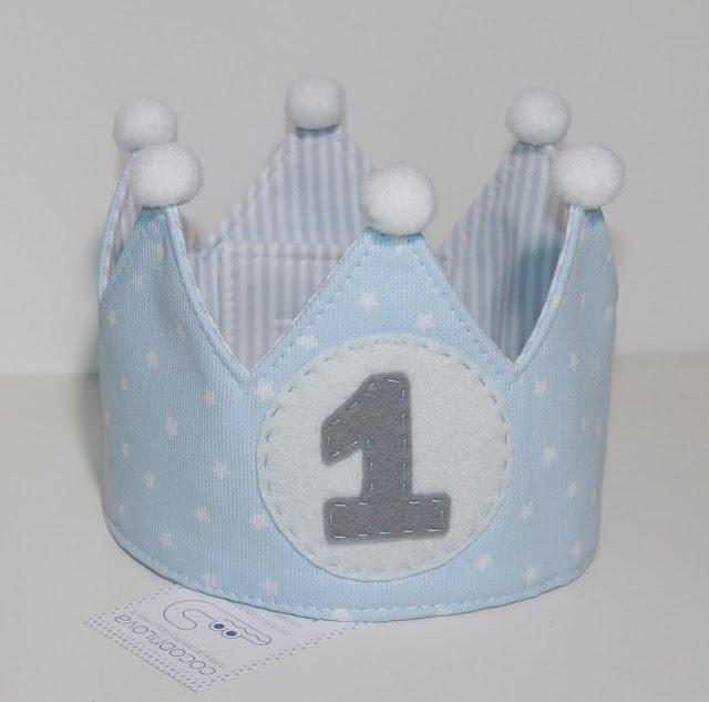 corona cumpleaños 1 año