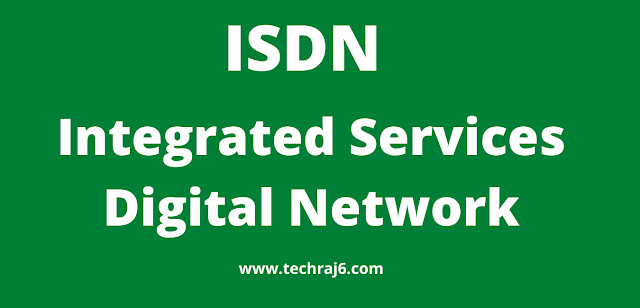 ISDN full form, what is the full form of ISDN