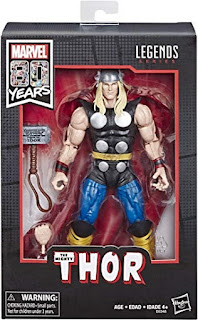 Click here to purchase Marvel Comics 80th Anniversary Thor Action Figure at Amazon!