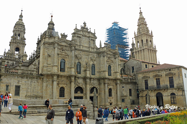 Plaza d ela Inmaculada, Catedral de Santiago de Compostela