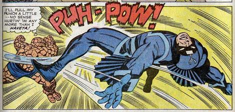 Fantastic Four 46 Jack Kirby Black Bolt