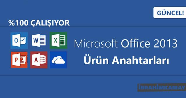 Microsoft Office 2013 Ürün Anahtarları