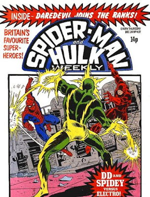 Spider-Man and Hulk Weekly #407, Daredevil and Electro