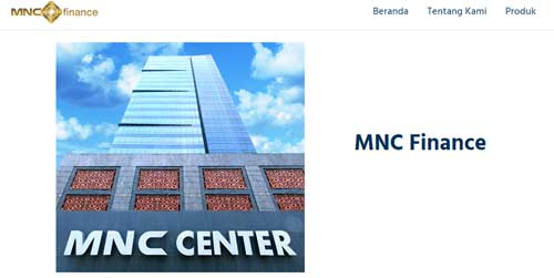 website resmi mnc finance