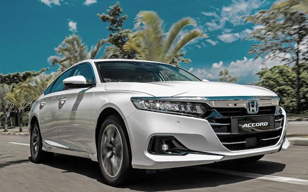 Honda Accord Híbrido 2022 apresentado no Brasil; nas lojas no 2º semestre