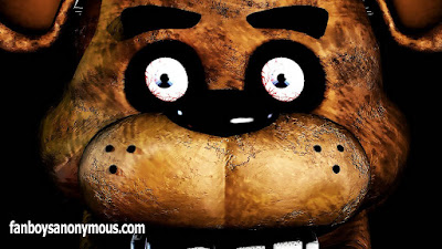 Fazbear freddy pizza bear horror scary game bunny chicken fox robots animatronics night work security