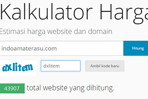 Cara Melihat Harga Sebuah Website/ Blog