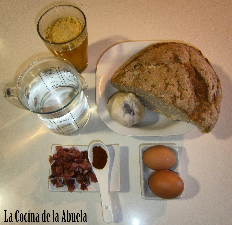 Sopa de Ajo, Sopa Castellana.