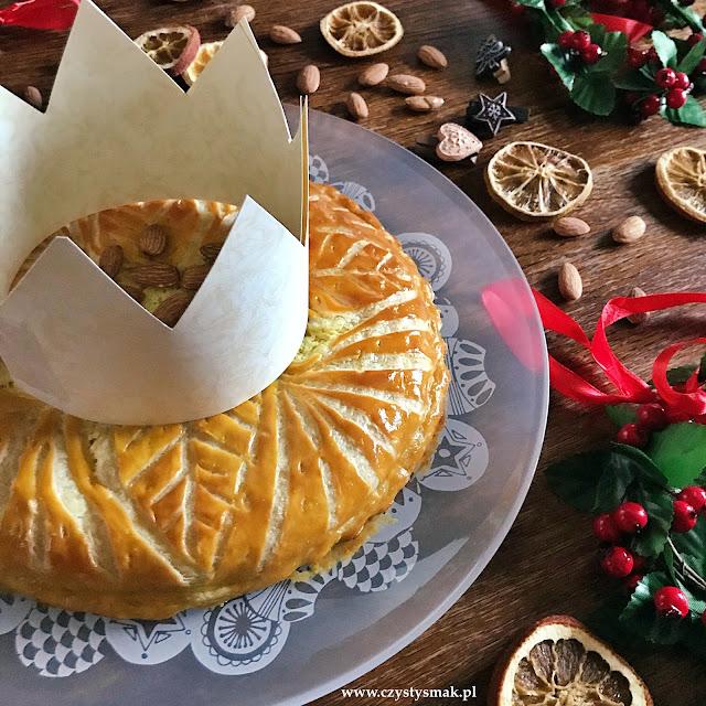 Ciasto francuskie z migdałami