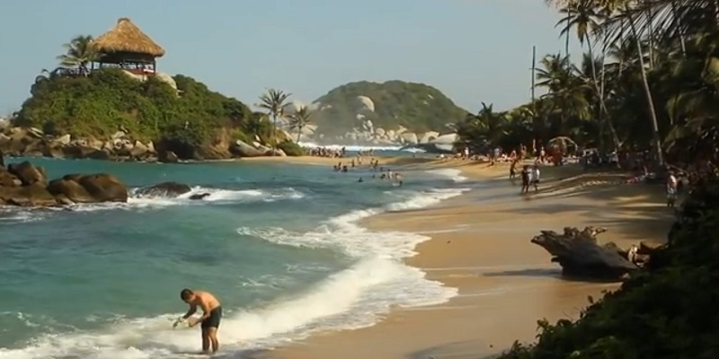 Tayrona National Park tourist place in south america