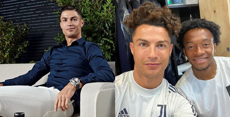 Soccer Legend, Cristiano Ronaldo Shows Off His New Hairstyle (Photo) #Arewapublisize