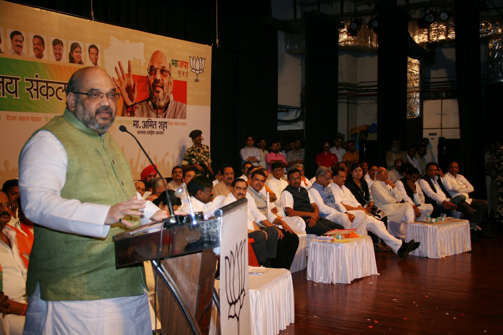 Amit Shah on his 'Mission Mumbai'
