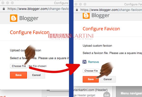 Bagaimana Cara Mengubah Vavicon Pada Blogger mu