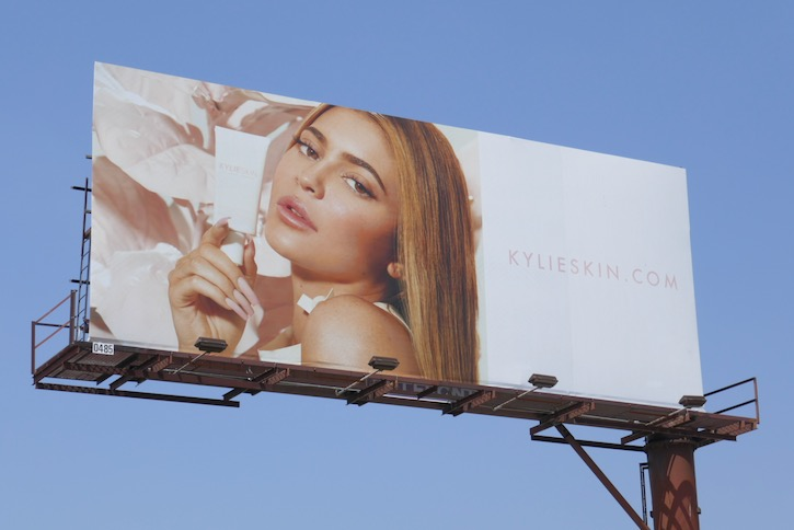 Kylie Skin Summer 2020 billboard