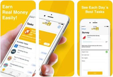 Aplikasi Penghasil Uang iOS - 1