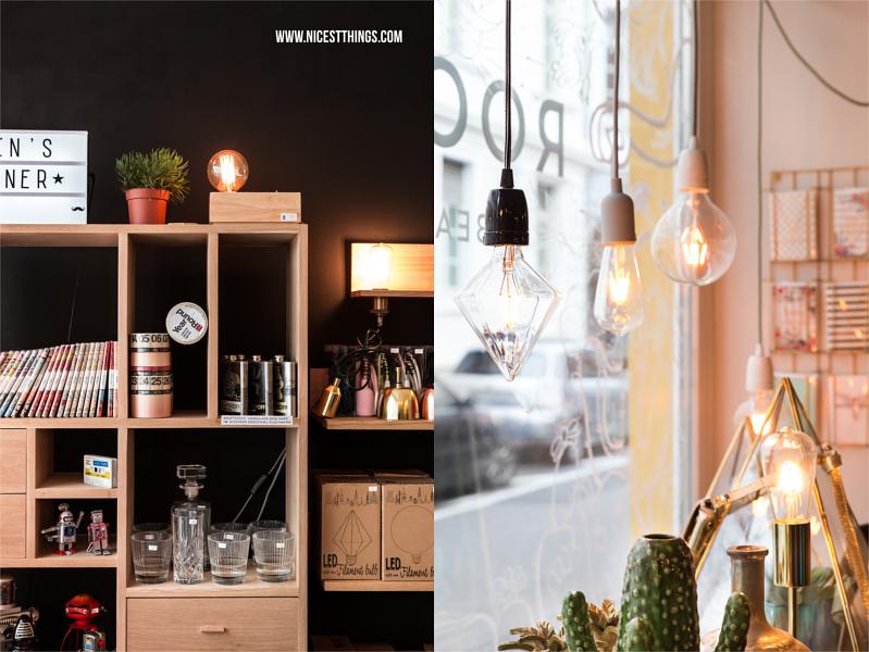 Geschenke für Männer und Edison Light Bulbs bei Room Mate Heidelberg