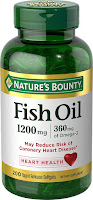 Nature's Bounty Fish Oil 1200 mg Omega-3 $12.88