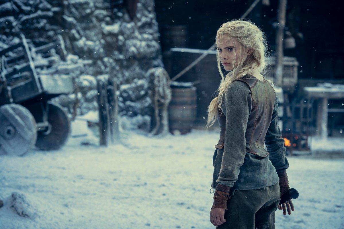 The Witcher: Visual de Freya Allan como Ciri na 2ª Temporada é Revelado