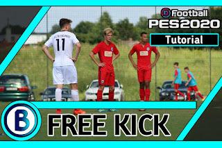 Tutorial Free Kick Ampuh di PES 2020