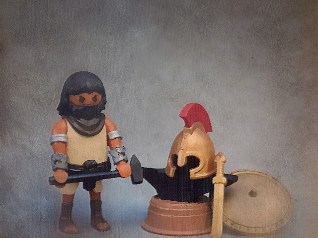 PLAYMOBIL CUSTOM FIGURE ANCIENT GREECE HEFESTO