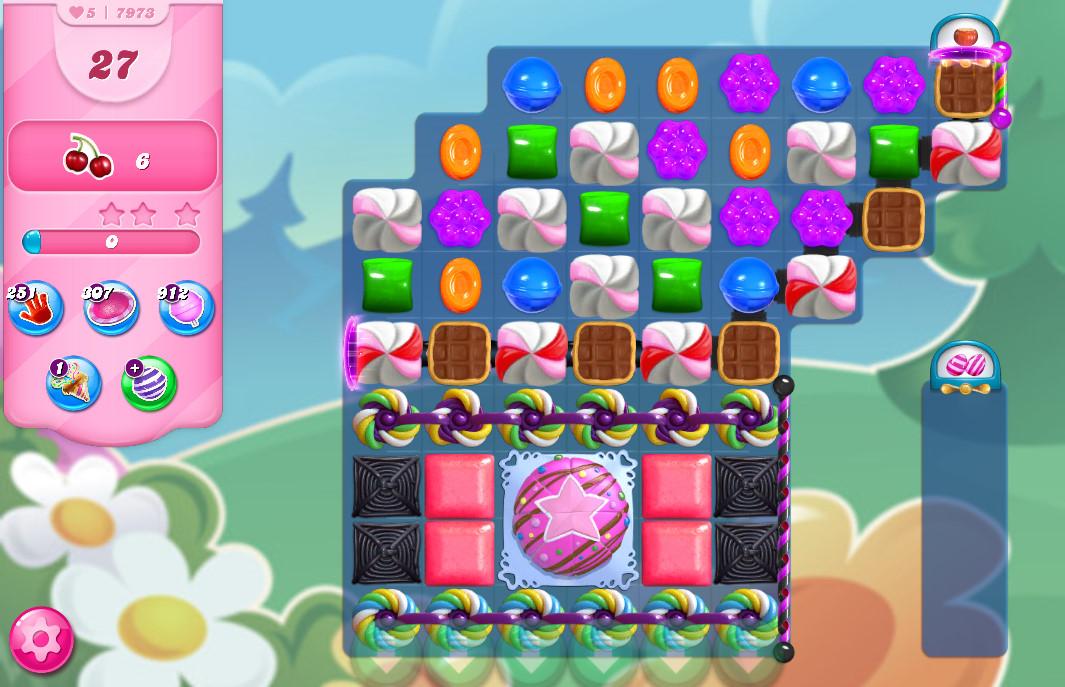 Candy Crush Saga level 7973