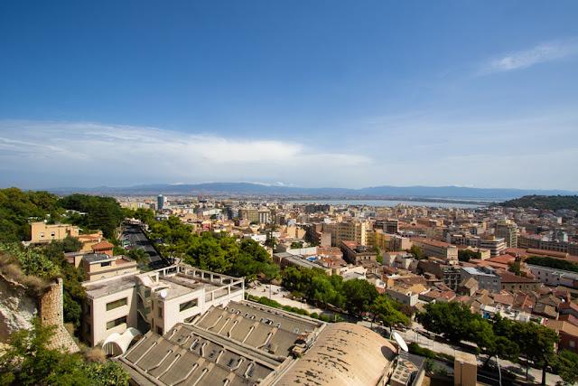 Vista dal Quartiere Castello-Cagliari