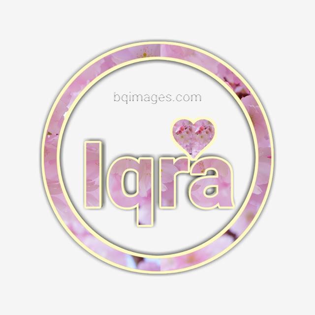 Beautiful Pics with Iqra Name