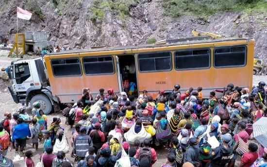 KKB Terus Mengancam, Ribuan Warga Tembagapura Mengungsi