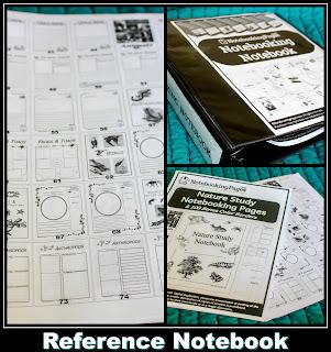 homeschool notebook pages, journaling, notebooking,