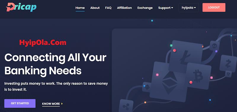 [SCAM] Review Pricap - Dự án gia tăng Crypto với lãi từ 4.5% hằng ngày - Thanh toán tức thì