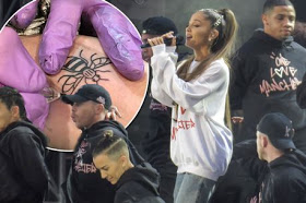 Ariana Grande and her team got tattoos to permanently remind them of Manchester