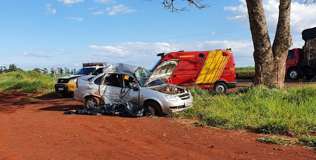 Ivaiporã: Idoso morre em acidente na PR-466