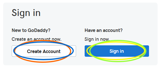 GoDaddy-signup-or-signin