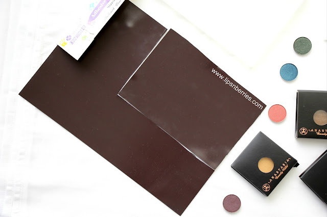 how to make an eyeshadow palette cheap