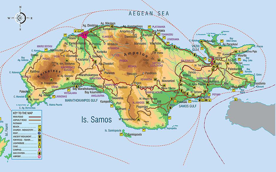 Sidney S Place The Island Of Samos 1 Historic Samos