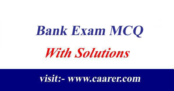 Banking MCQ