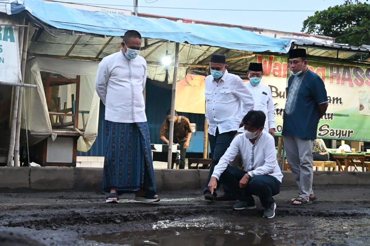 Sehari Dilantik, Bupati Kebumen Langsung Tinjau Jalan Rusak di Petanahan