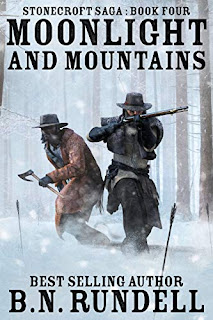 Moonlight and Mountains - a stirring frontier adventure by R.N. Rundell