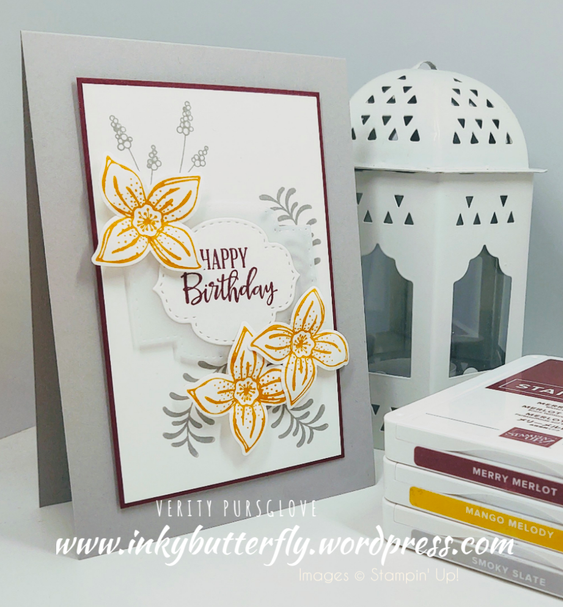 Nigezza Creates with Stampin' Up! & Friends The Project Share March 26th 2020