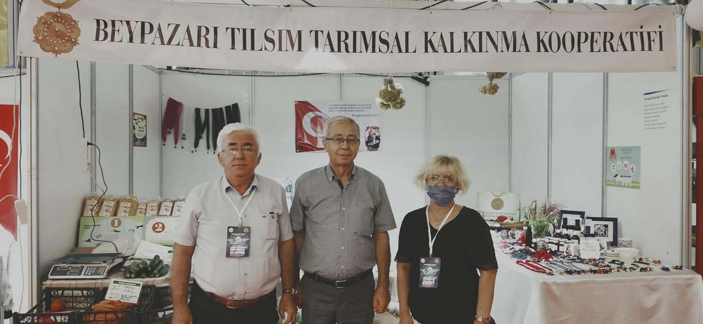 Uluslararası Ticaret, Kültür ve Turizm Festivali Ankara Altınpark Expo Fuar Alanı, Beypazarı Tılsım Tarımsal Kalkınma Kooperatifi Mustafa Dızman