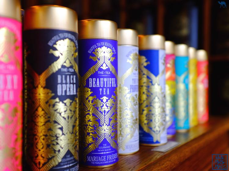 Le Chameau Bleu - Boites de thé - Mariage Freres