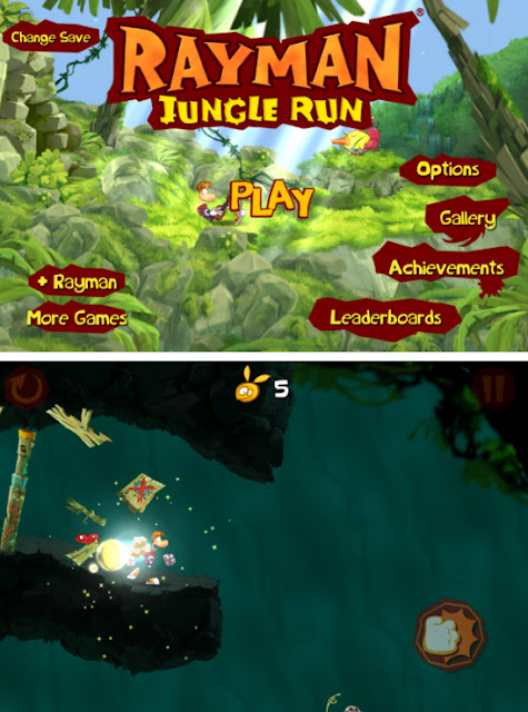 Game Rayman Jungle Run download
