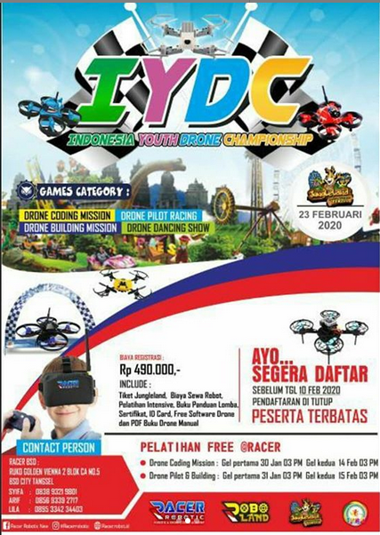Indonesia Youth Drone Championship - Racer Robotic